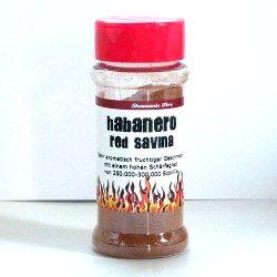 Red Savina Habanero chili por 45gramm shakerben
