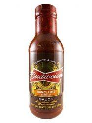 Budweiser Honey Lime BBQ Sauce Eredeti USA termék