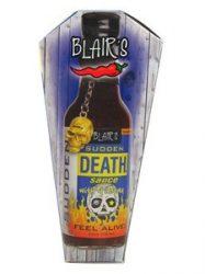 Blair's Sudden Death koporsóban
