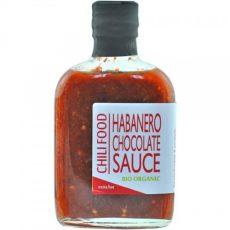 Habanero Chocolate Sauce -BIO-
