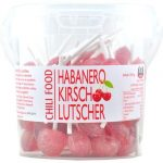 Habanero Chili Cherry Lollipops