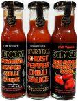 Venom Sauce - Phantom & Stinger Habanero Sauce - 3 X 250ml