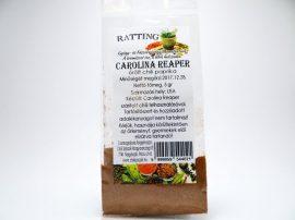 Carolina Reaper chili por 5 gramm tasakban