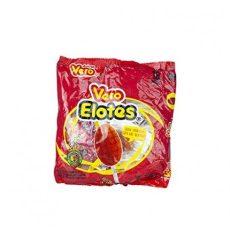 Lollipop Vero Elotes Erdebeergeschmact Mit chili