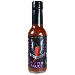 Who Dares Burns! Naga Chipotle Chili Sauce