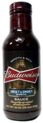 Budweiser Sweet & Smoked BBQ Sauce  Eredeti USA termék