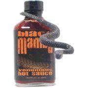 CaJohns Black Mamba Extrém Hot Sauce