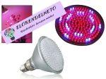 Növény nevelő lámpa 8W E27 piros/kék 168 LED