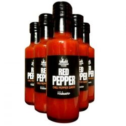 Red Pepper Habanero Hot Sauce