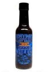 Hellfire Hot Sauce Special Reserve Carolina Reaper Blue