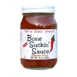 Bone Suckin Hot and Thick Barbecue Sauce