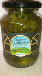 Greenhouse szeletelt Jalapeno paprika konzerv sós lében