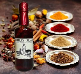 Fűszeres chili olaj 200 ml