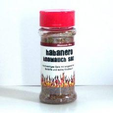 Habanero chilis fokhagymás só