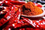 Csípős Chili őrlemények
