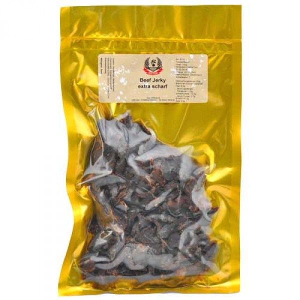 Hot-Headz! Naga Jolokia Beef Jerky